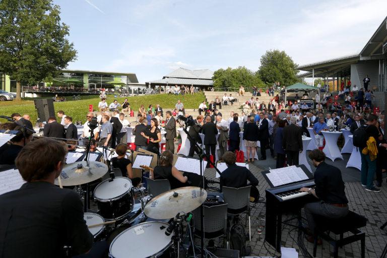 Ratsempfang beim 10. Wissenschaftstag an der Universität Bayreuth, Foto: Peter Kolb