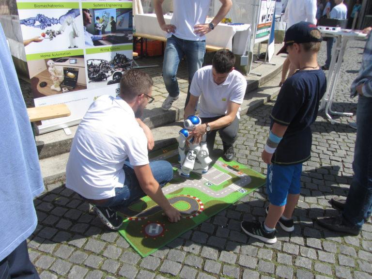 Markttage des Wissens Mensch & Maschine in Fürth, Foto: Kulturidee