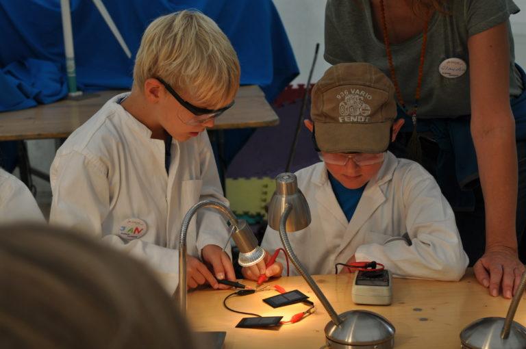 Science Camp Energiewende N-ERGIE, Foto: Stadt Nürnberg/ KUF