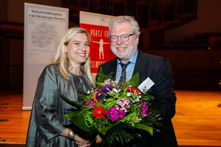11. Wissenschaftstag 2017, Bamberg, Eröffnung durch Gesundheitsministerin Huml und Prof. Ruppert, Foto: Hoch
