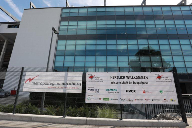 12. Wissenschaftstag WT18 im Sportpark Ronhof Thomas Sommer, Foto: Dreier